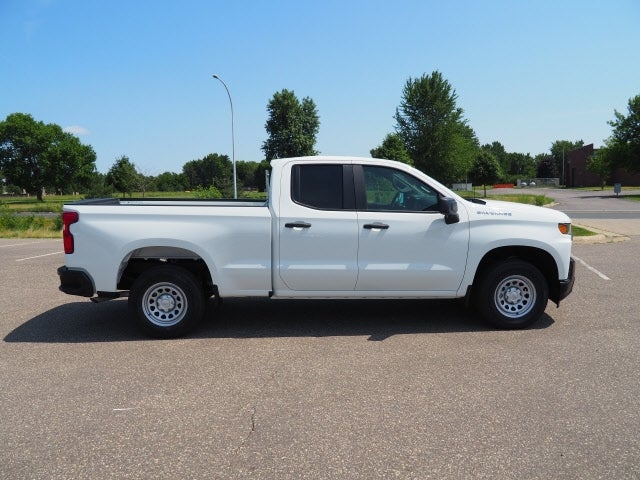 Used 2021 Chevrolet Silverado 1500 Work Truck with VIN 1GCRWAEH9MZ224704 for sale in Hastings, Minnesota